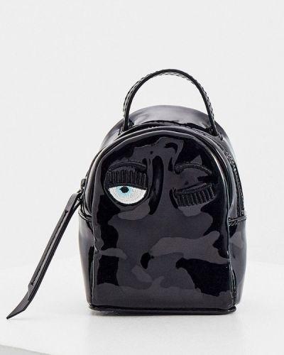 Черный городской рюкзак Chiara Ferragni Collection