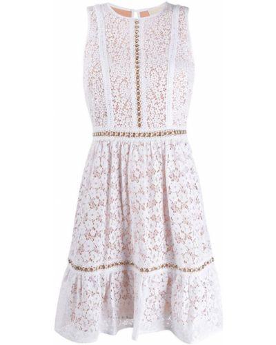 Платье миди на пуговицах с вырезом Michael Michael Kors