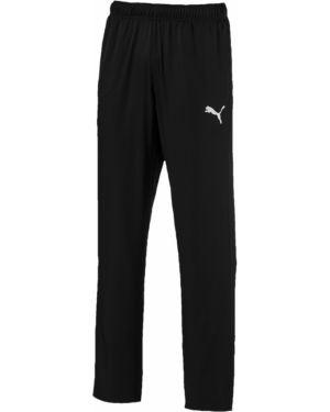 Спортивные брюки черные с карманами Puma