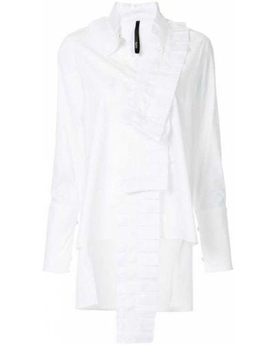 Длинная рубашка - белая Taylor