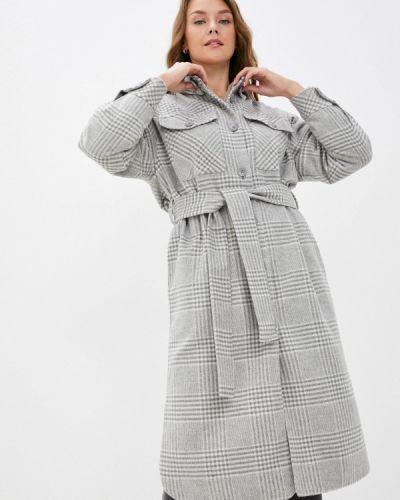 Пальто - серое Zarina