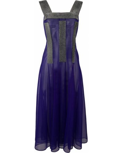 Платье миди сетчатое на молнии Christopher Kane