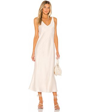 Платье миди из вискозы Line & Dot
