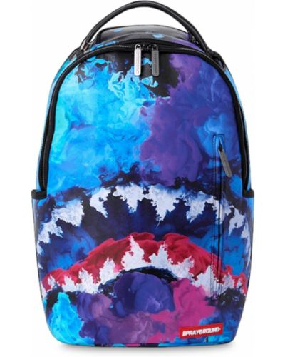 Plecak na paskach z kieszeniami z płótna Sprayground