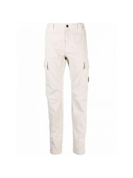 Białe spodnie C.p. Company