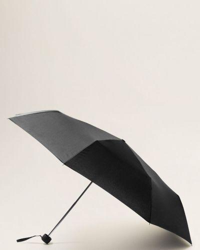 Зонт черный металлический Mango