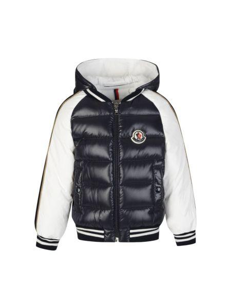 Biała kurtka bawełniana Moncler