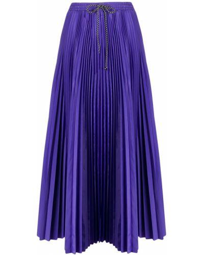 Плиссированная юбка миди фиолетовый Tela
