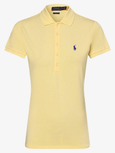 T-shirt - żółta Polo Ralph Lauren