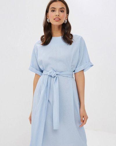 Платье - голубое Mirrorstore