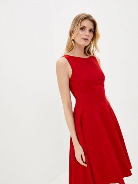 Красное вечернее платье снежная королева