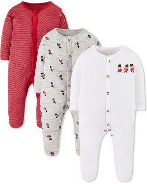 Ползунки красные белые Mothercare