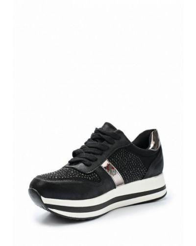 Черные кроссовки из искусственной кожи Vivian Royal