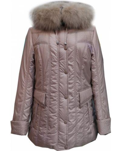 Куртка с капюшоном - бежевая Mirage