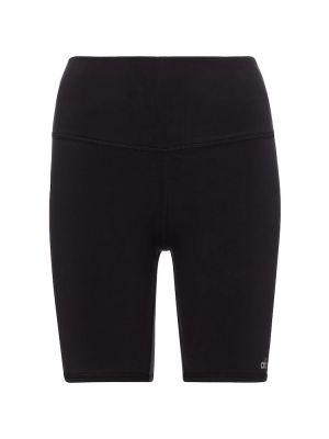 Трикотажные шорты - черные Alo Yoga