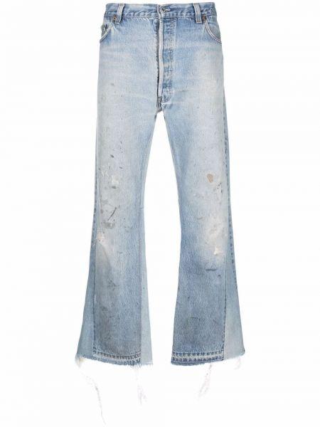 Niebieskie mom jeans bawełniane Gallery Dept.