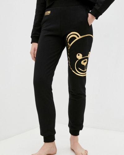 Спортивные брюки - черные Moschino Underwear