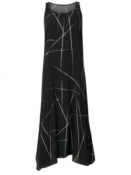 Платье миди - черное Uma   Raquel Davidowicz