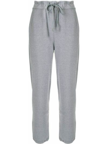 С завышенной талией серые спортивные брюки эластичные James Perse