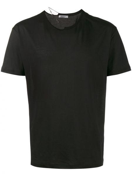 Koszula krótkie z krótkim rękawem z kołnierzem z cięciem Valentino