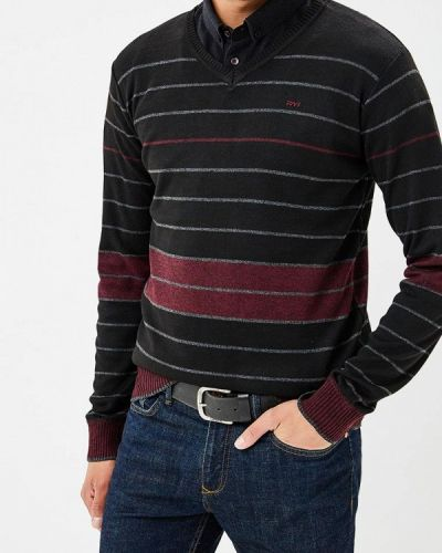Черный пуловер Mezaguz