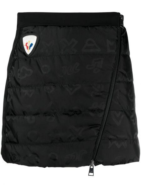 Черная прямая с завышенной талией спортивная юбка Rossignol