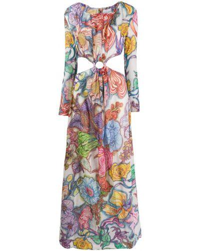 Фиолетовое платье макси Daizy Shely
