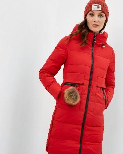 Красная зимняя куртка Winterra