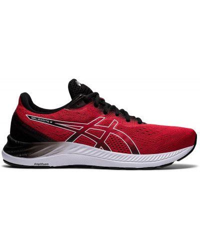Красные кроссовки беговые для бега с сеткой Asics