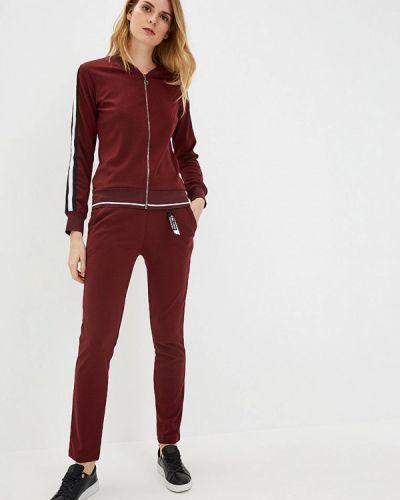Брючный костюм бордовый турецкий Whitney