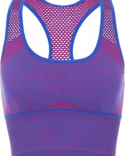 Фиолетовый спортивный костюм для фитнеса Demix