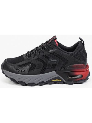 Черные кроссовки осенние Skechers
