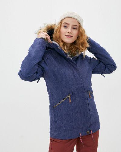 Синяя куртка горнолыжная сноубордическая Roxy