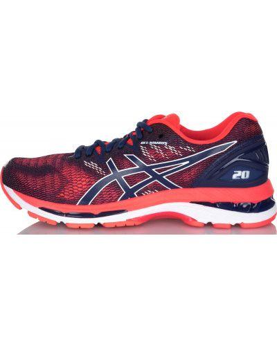 Красные кроссовки для бега Asics