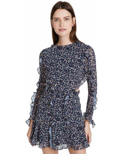 Платье с декольте Fame And Partners