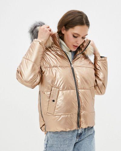 Утепленная куртка золотая Softy