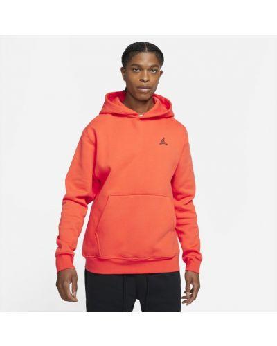 Pomarańczowa bluza dzianinowa Jordan
