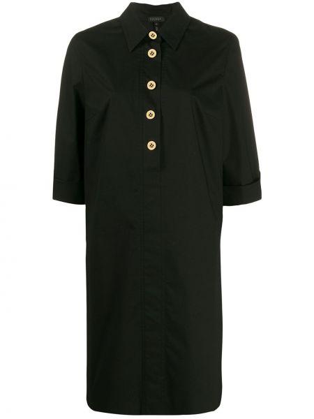 Платье миди на пуговицах классическое Escada