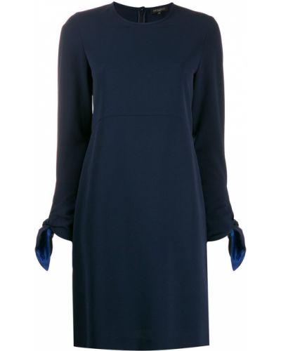 Платье для невысоких темно-синий Antonelli