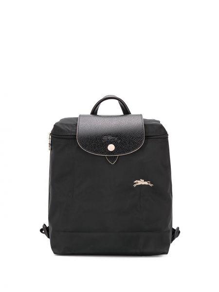 Кожаный рюкзак - черный Longchamp