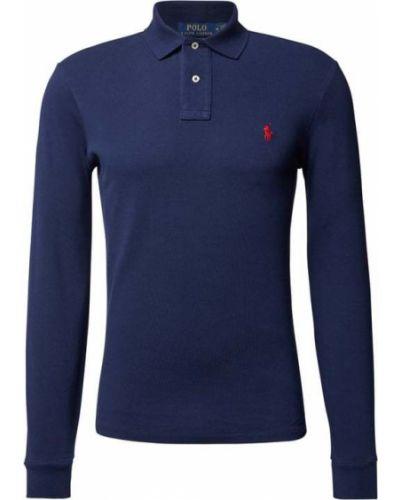 Niebieska t-shirt bawełniana Polo Ralph Lauren