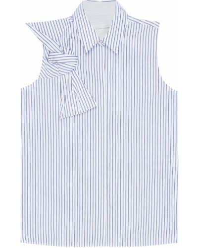 Блузка без рукавов с бантом прямая Victoria Beckham