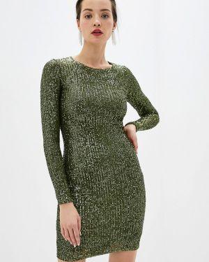 Платье - зеленое Gold Chic Chili