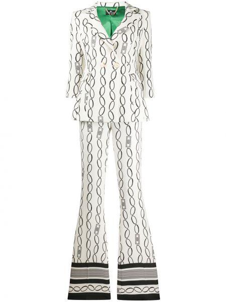 Spodni garnitur kostium dwurzędowy Elisabetta Franchi