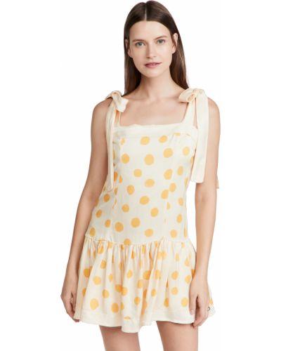 Платье мини - желтое Agua Bendita