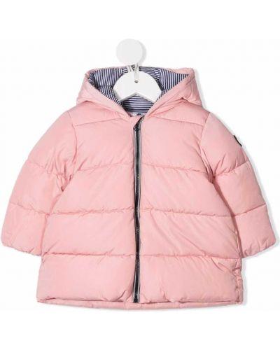 Różowy płaszcz bawełniany Petit Bateau