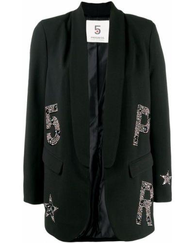 Черный пиджак с карманами 5 Progress