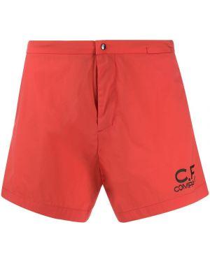 Шорты с карманами красный C.p. Company