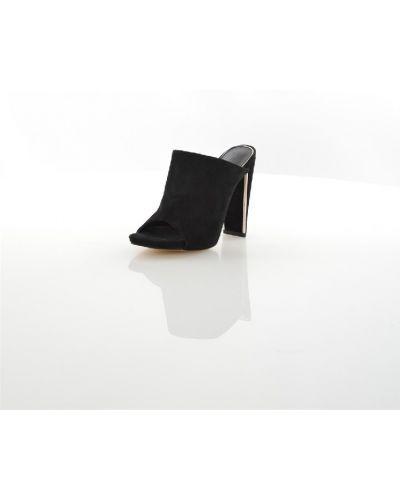 Сабо кожаные на каблуке Calipso