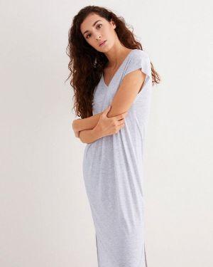Платье серое весеннее Women'secret